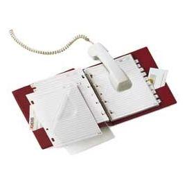 RUBRICA TELEFONICA TELEX 3 BLU 15X21CM (A5)