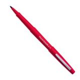 PENNARELLO FLAIR NYLON ROSSO PUNTA 1.1MM PAPERMATE