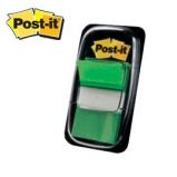 SEGNAPAGINA POST-IT 680-3 VERDE 25.4X43.6MM 50FG INDEX
