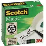 NASTRO ADESIVO SCOTCH MAGIC 810-1933 INVISIBILE PERM. 19MMX33MT