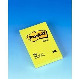 BLOCCO 100fg Post-itGiallo Canary 76x51mm 656