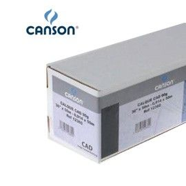 CARTA INKJET PLOTTER 610MM(24) X 50MT 90GR HICOLOR OPACA CANSON