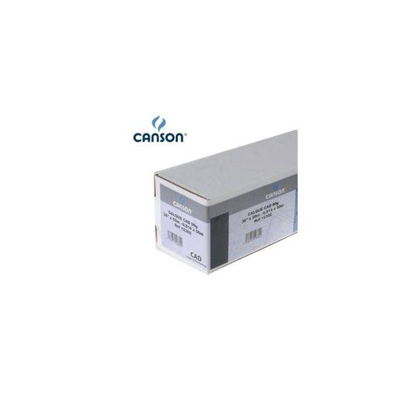 CARTA INKJET PLOTTER 610MM(24) X 50MT 90GR HICOLOR OPACA CANSON