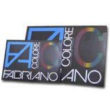 BLOCCO FACOLORE (330X480MM) 25FG 220GR 5 COLORI FABRIANO
