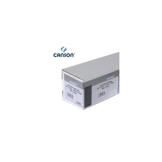 CARTA PLOTTER 914MM(36) X 46MT 100GR HIRESOLUTION PAPERJET CANSON