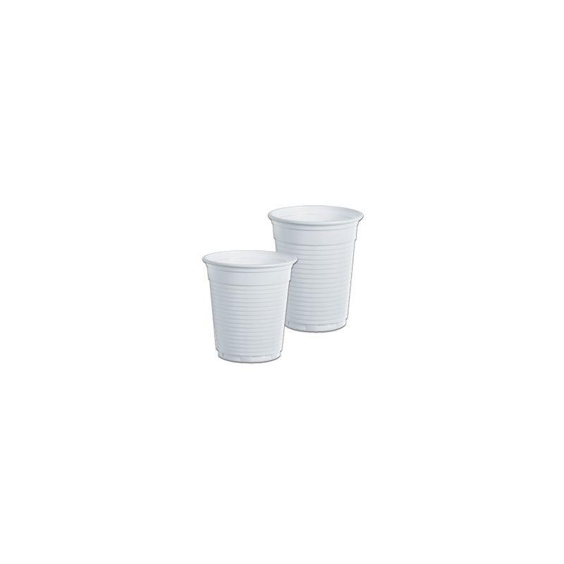 100 bicchieri 80cc bianco monouso da caffe dopla 02063 for Bicchieri caffe