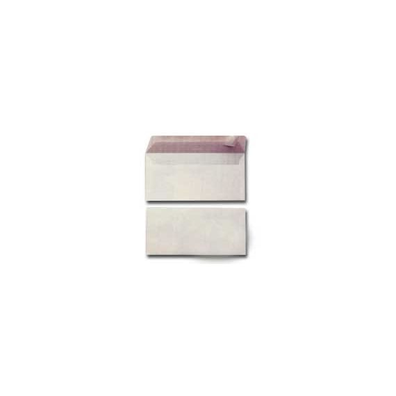 500 BUSTE BIANCHE 110X230MM S/FINESTRA 90GR EDERA STRIP