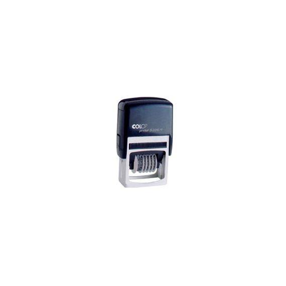 TIMBRO NUMERATORE 6 COLONNE 3,8MM S126 AUTOINCHIOSTRANTE COLOP