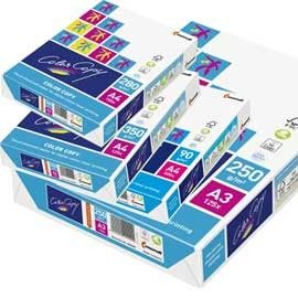 CARTA BIANCA COLOR COPY A3 297x420mm 200gr 250fg MONDI