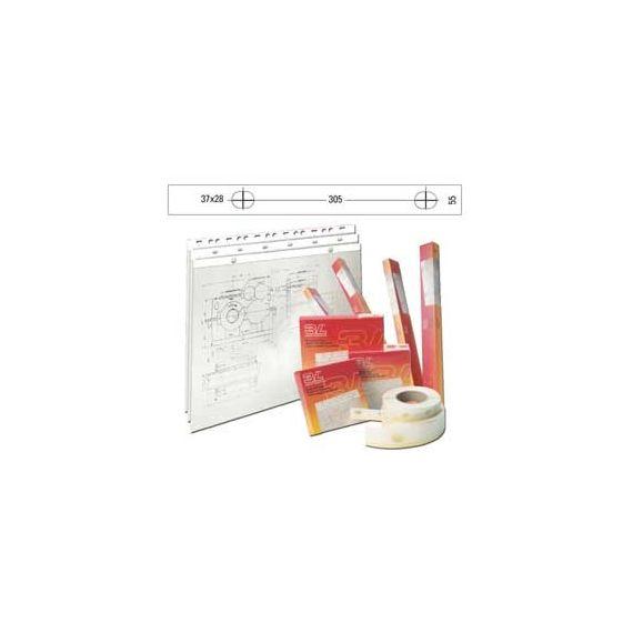 BANDA APPENDIDISEGNI 3L PVC BIANCO OPACO 50MT (S885504)