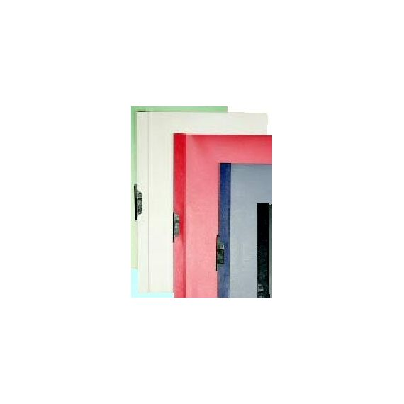 CARTELLINA PVC C/MOLLA DORSO 5 BIANCO SPRING FILE 22X31
