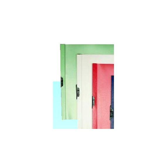 CARTELLINA PVC C/MOLLA DORSO 5 VERDE SPRING FILE 22X31