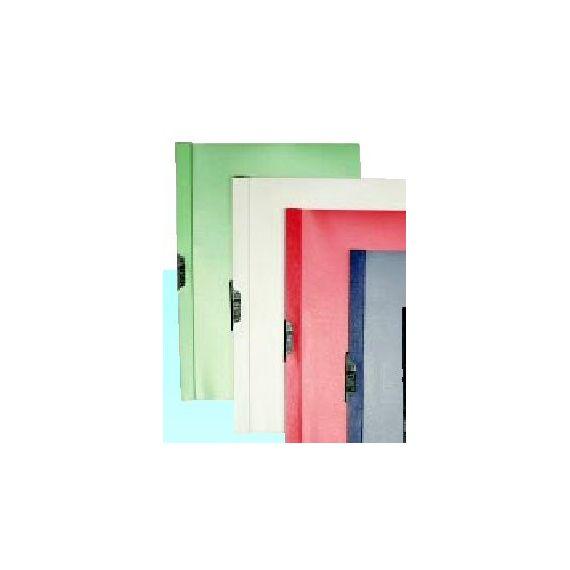 CARTELLINA PVC C/MOLLA DORSO 7 BLU SPRING FILE 22X31