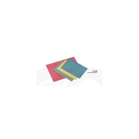 100 CARTELLINE SEMPLICI ROSSO S/STAMPA 145GR