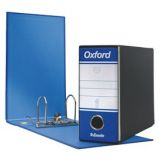 Registratore OXFORD G81 blu dorso 8cm f.to memorandum ESSELTE