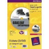 Etichetta adesiva L7676 bianca CD/DVD 100fg A4 117mm (2et/fg) Avery