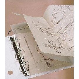 SCATOLA 100 BANDELLE ADESIVE ARCHIVIAZIONE 295MM 8804