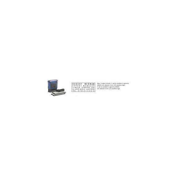 TIMBRO COMPONIBILE 4913-TYPO TRODAT MAX.5RIGHE BLISTER