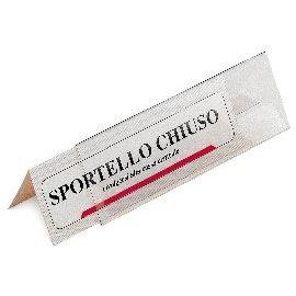 5 PORTANOME DA TAVOLO PRISMA 30X5CM