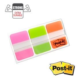 BLISTER 66 POST-IT INDEX STRONG 686-PGOEU 25X38MM COLORI VIVACI