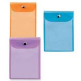 BUSTA CON BOTTONE PRESS 4 COLOR 12X15,5CM - ASSORTITE