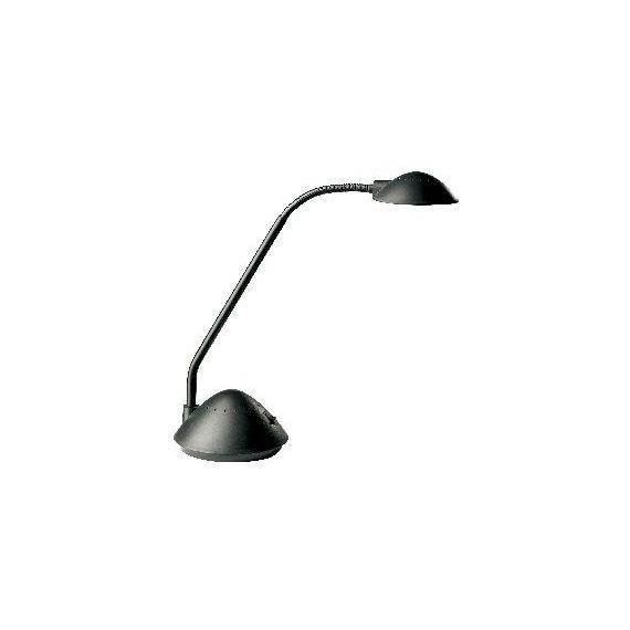 LAMPADA DA SCRIVANIA KANSAS 954 NERO ALOGENA 20W