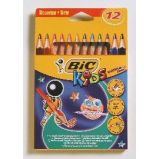 ASTUCCIO 12 MATITE KIDS EVOLUTION TRIANGLE BIC