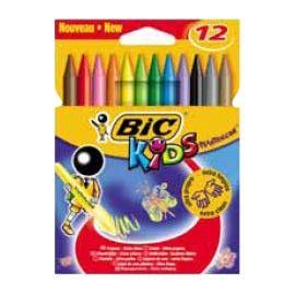 ASTUCCIO 12 PASTELLI KIDS PLASTIDECOR BIC