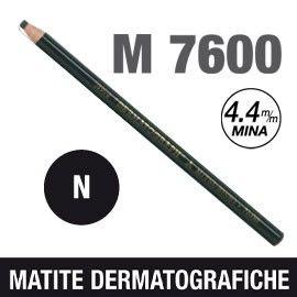 MATITA DERMATOGRAFICA 7600 NERO