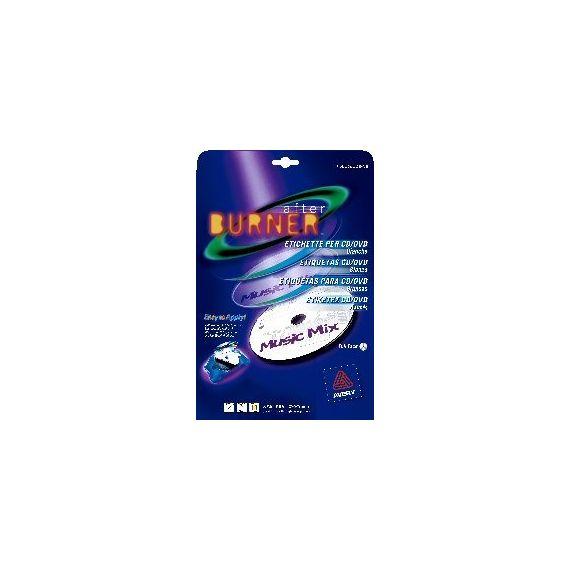 ETICHETTE LASER BIANCHE L7676-25FG (2ET/FG 117)CD/DVD FULL-FACE AVERY