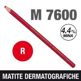 MATITA DERMATOGRAFICA 7600 ROSSO