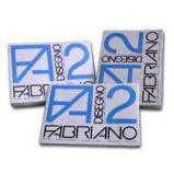 BLOCCO FABRIANO2 (330X480MM) 12FG 110GR RUVIDO COLLATO