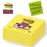 BLOCCO 350foglietti Post-it Super Sticky 2028-S 76x76mm GIALLO ORO