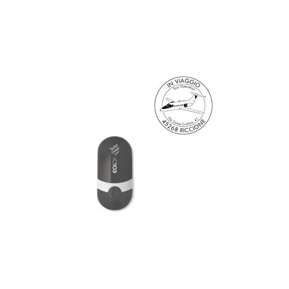 TAMPONE COLOP E/POCKETSTAMP R40 NERO