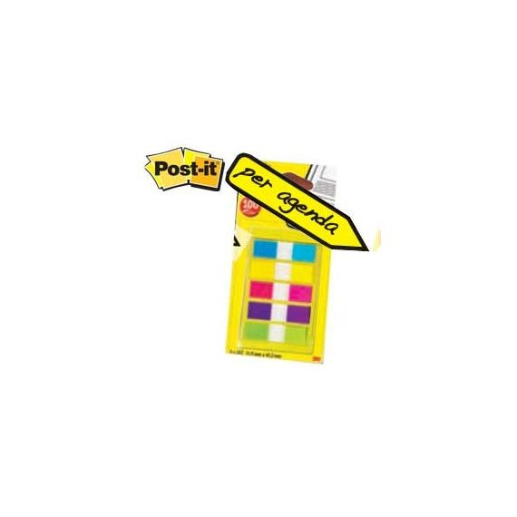 MINISET 100 POST-IT INDEX 683-5CBEU FORMATO MINI