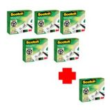 PROMO PACK 5+1 NASTRO ADESIVO SCOTCH MAGIC 810 PERMANENTE 19MMX33MT