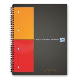 MAXI SPIRALATO 240X297mm 5mm 80gr 80fg ACTIVEBOOK INTERNATIONAL OXFORD
