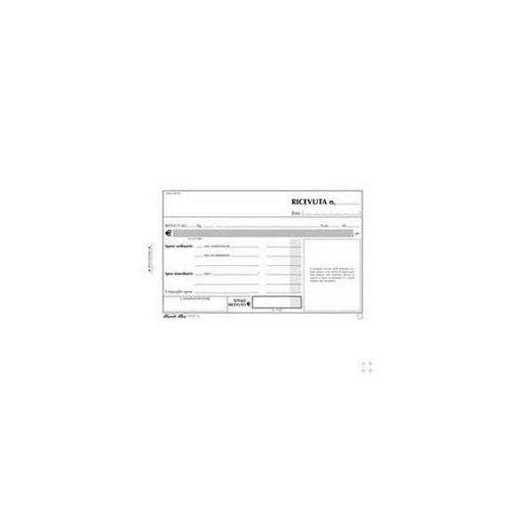 BLOCCO RICEVUTE DAFFITTO 50/50 FOGLI AUTORIC. 9,9X17 E5504C