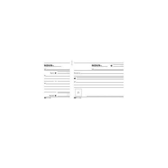 BLOCCO RICEVUTE GENERICHE MADRE/FIGLIA 100FG 11X21 E5566