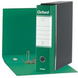 Registratore OXFORD G83 verde dorso 8cm f.to commerciale ESSELTE