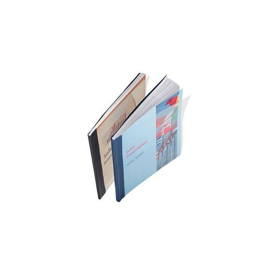 SCATOLA 10 COPERTINE IMPRESSBIND 3,5MM NERO FLESSIBILE
