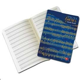MAXIQUADERNO MUSICA 21X29,7CM 32FG 100GR 12 PENTAGRAMMI