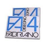 PACCO 25FG FABRIANO4 50X70CM LISCIO 220GR
