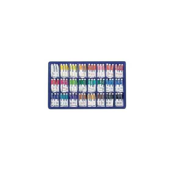 VETRINETTA 144 TEMPERA GIOTTO TUBO 4 (12ML) ASSORT.