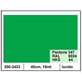 PLASTICA ADESIVA DC-FIX 45CM X 15MT VERDE 120 LUCIDO