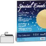 Carta metallizzata SPECIAL EVENTS A4 10fg 250gr argento FAVINI