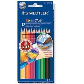 ASTUCCIO 12 MATITE COLORATE 144 AQUARELL NORIS CLUB STAEDTLER