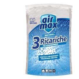 BUSTA SALI ASSORBIUMIDITA AIR MAX DA 3 RICARICHE CLASSIC NEUTRO