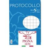 PROTOCOLLO A4 5MM 200FG 80GR PIGNA