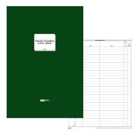 REGISTRO CORRISPONDENZA ARRIVO-PARTENZA 500PAG. 31X24,5 E2815